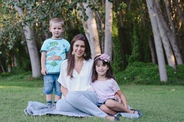 Camila e hijos